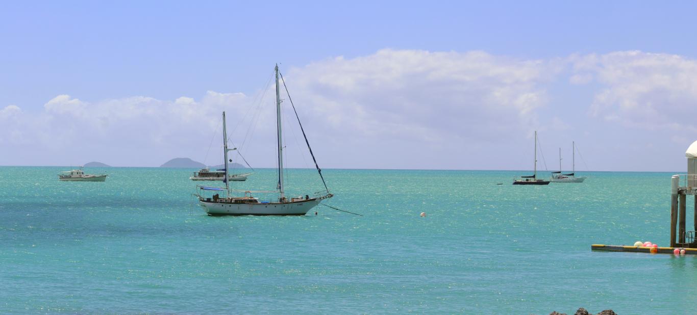 Croisière dans les Whitsunday Islands J1