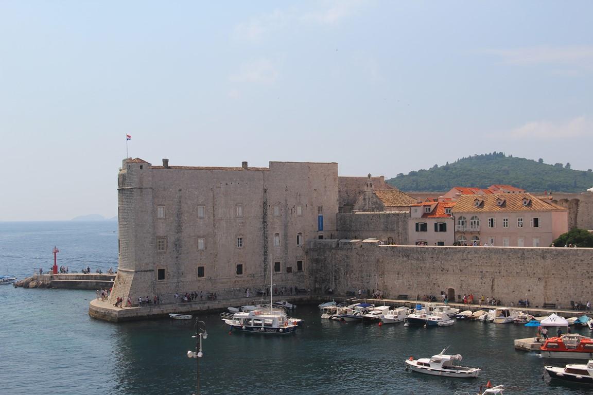 Dubrovnik vue du port
