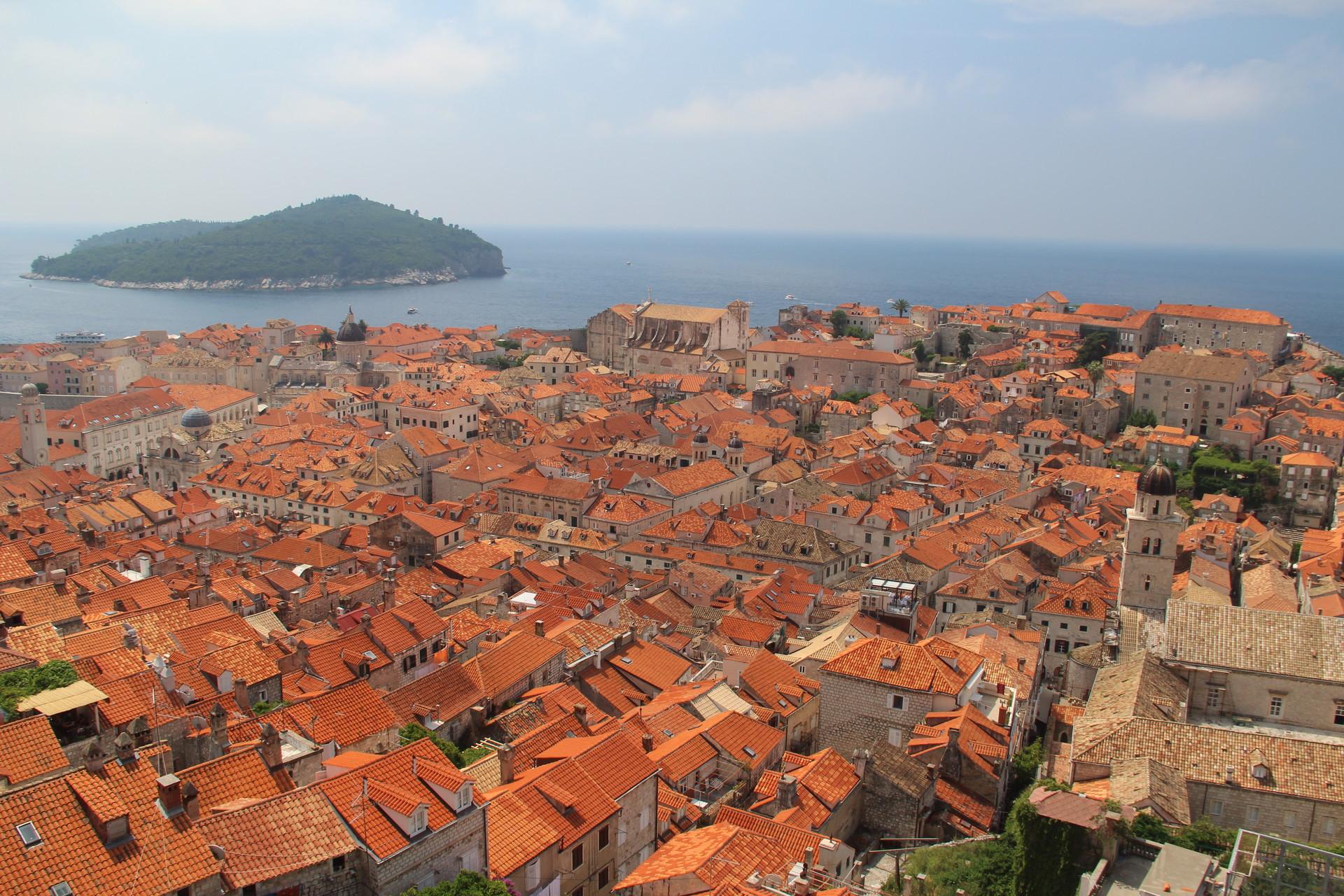 Au marché de Dubrovnik