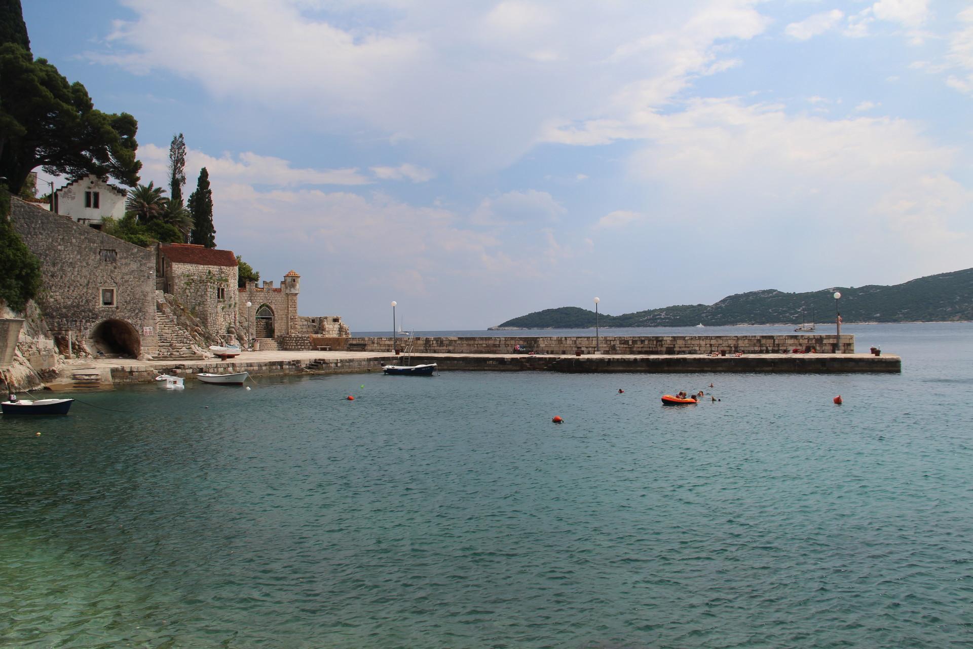 Le port de Trsteno