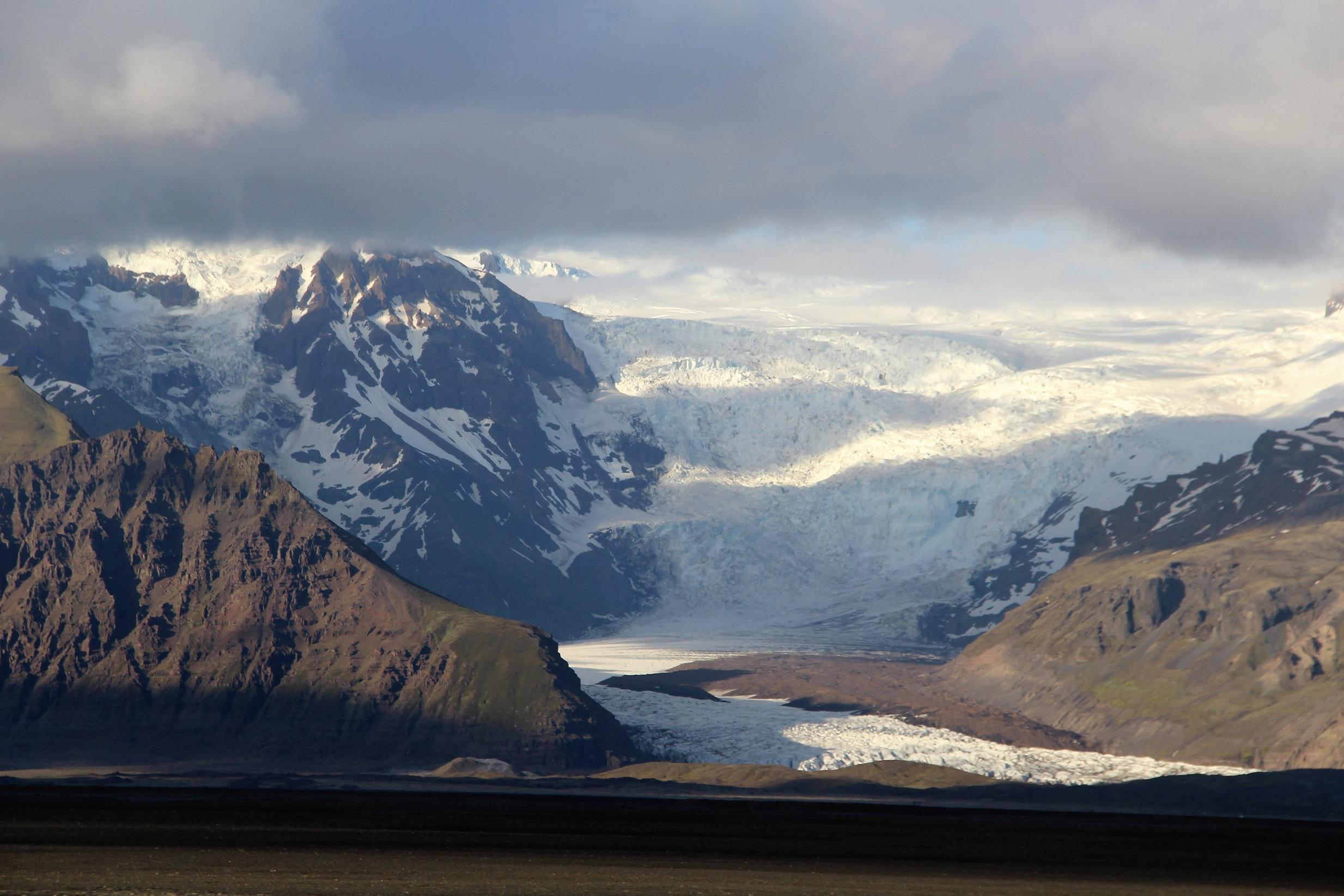 En route pour le Vatnajökull