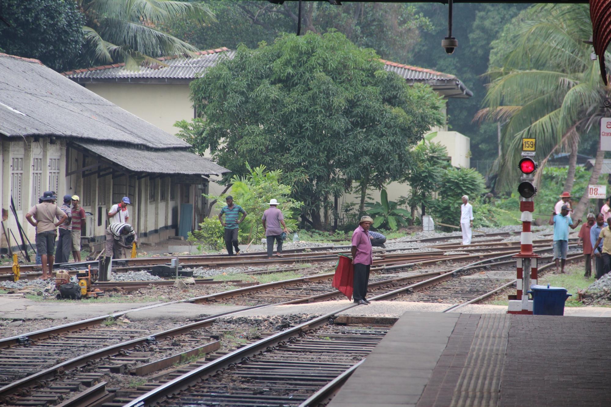 Ça démarre de Negombo