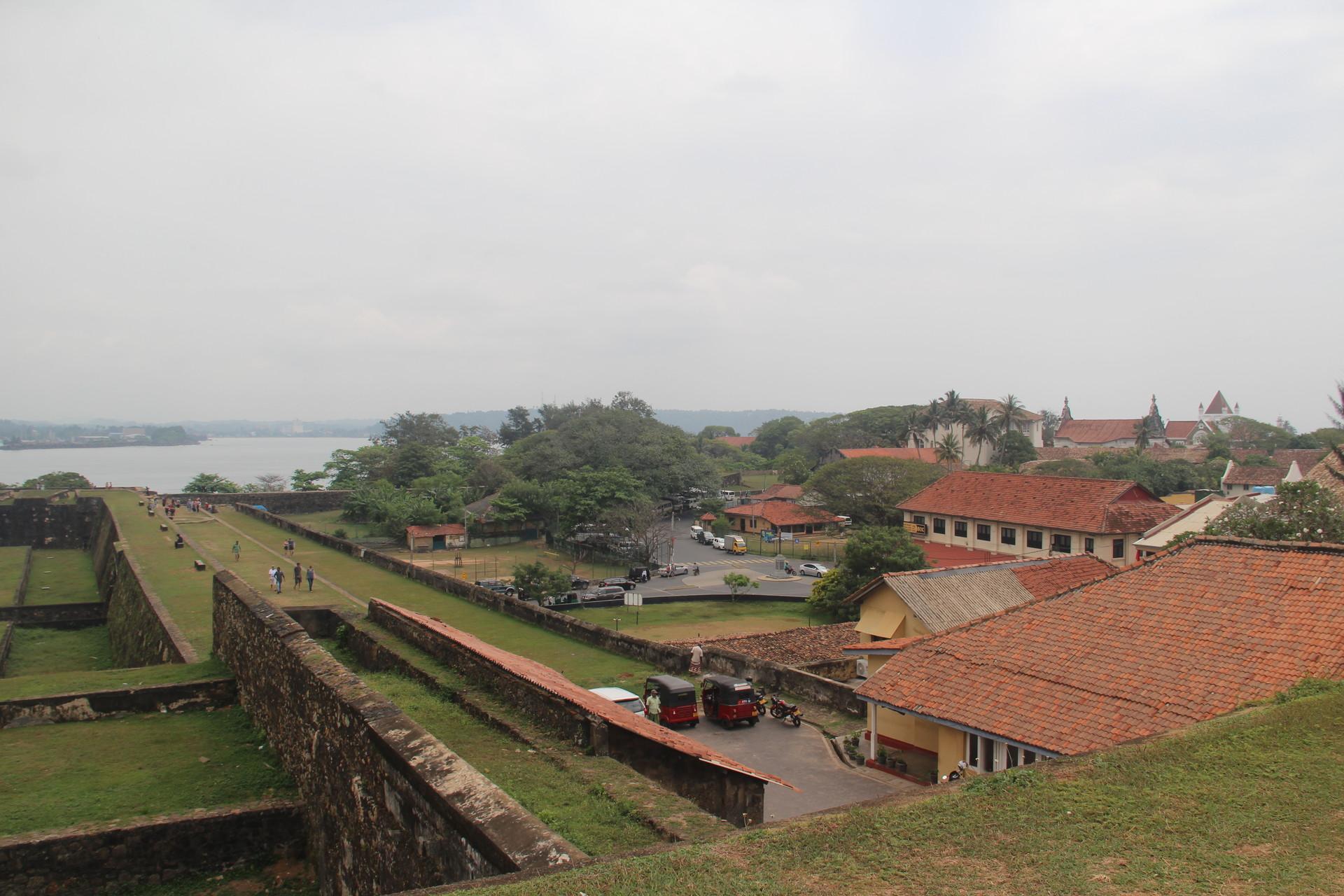 La vieille ville fortifiée de Galle