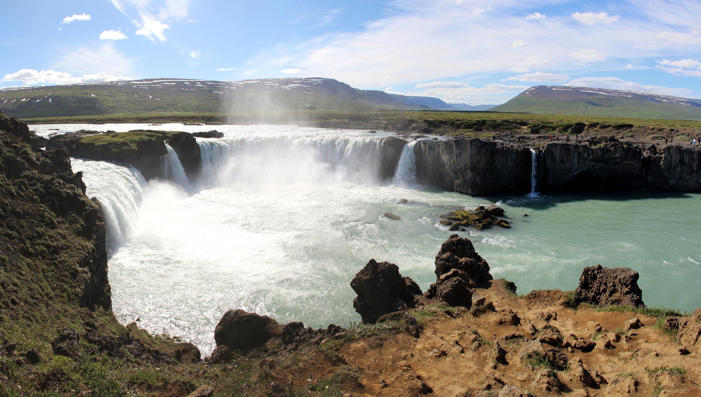 Myvatn, Góðafoss, Akureyri, Varmahlíð (le nord)