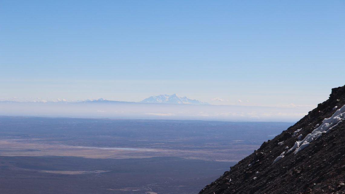 Without ascent of Sajama