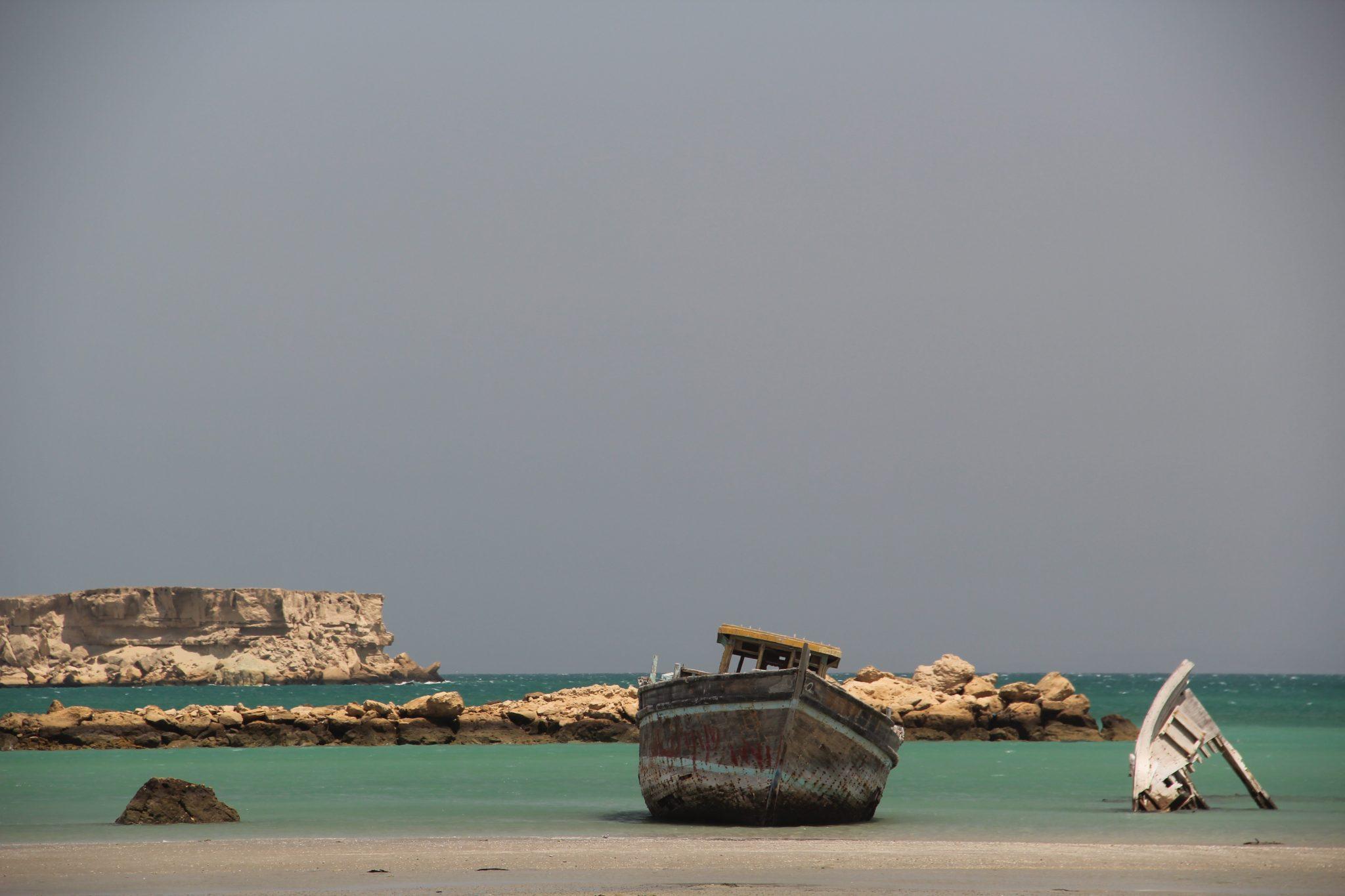 Mer d'Oman et mangrove Hara
