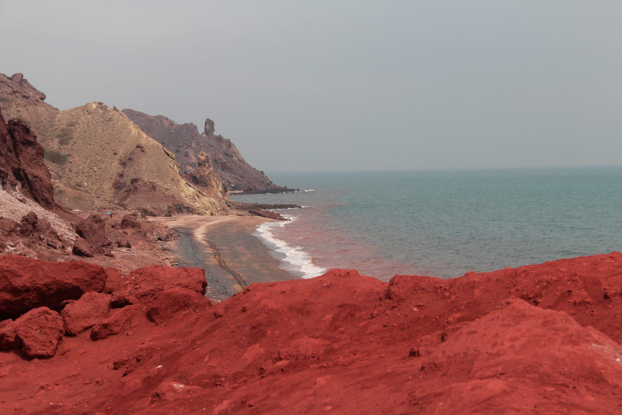 Les couleurs de l'île d'Hormuz