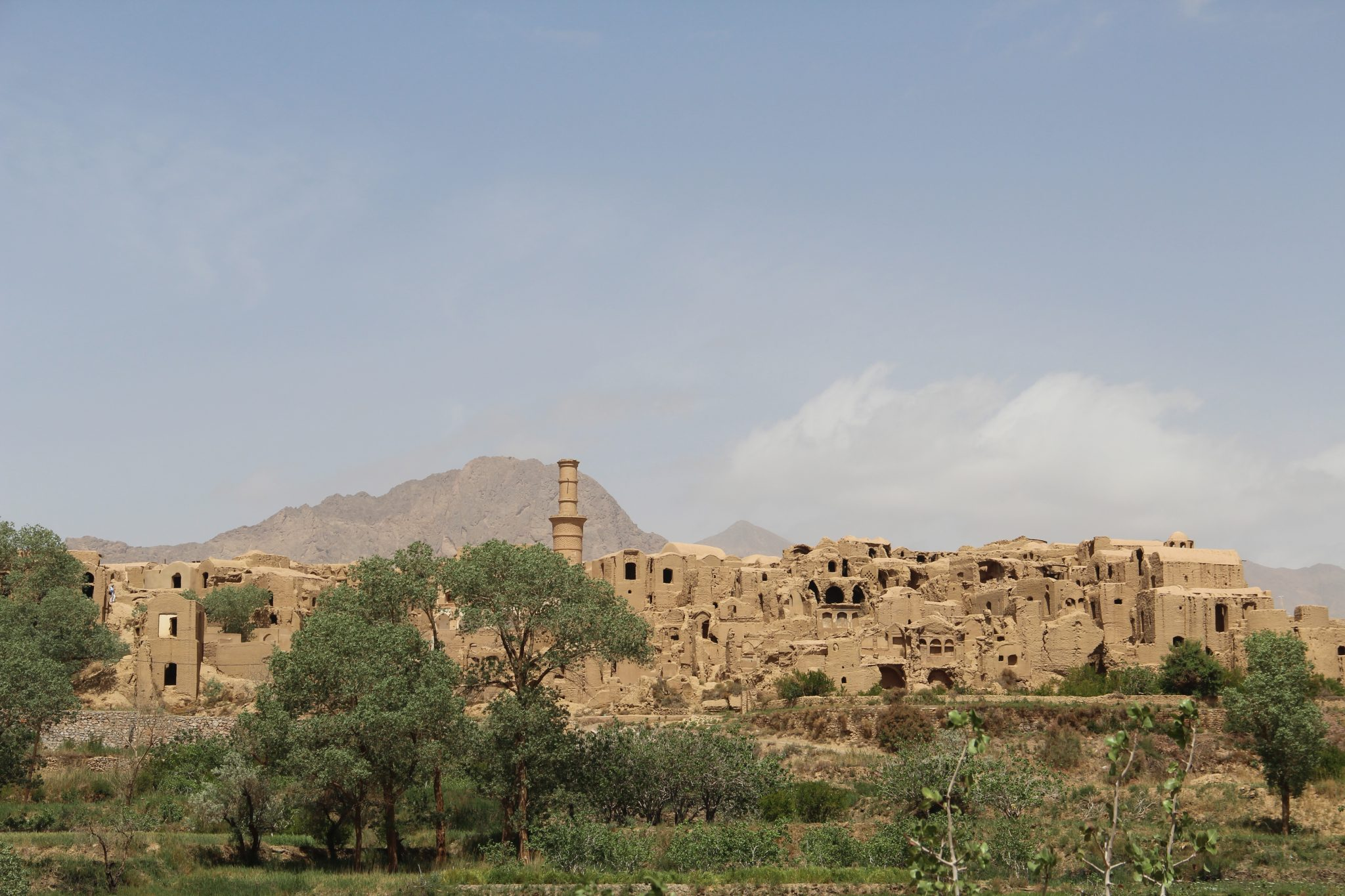 Désert de Kavir de Yazd à Mesr