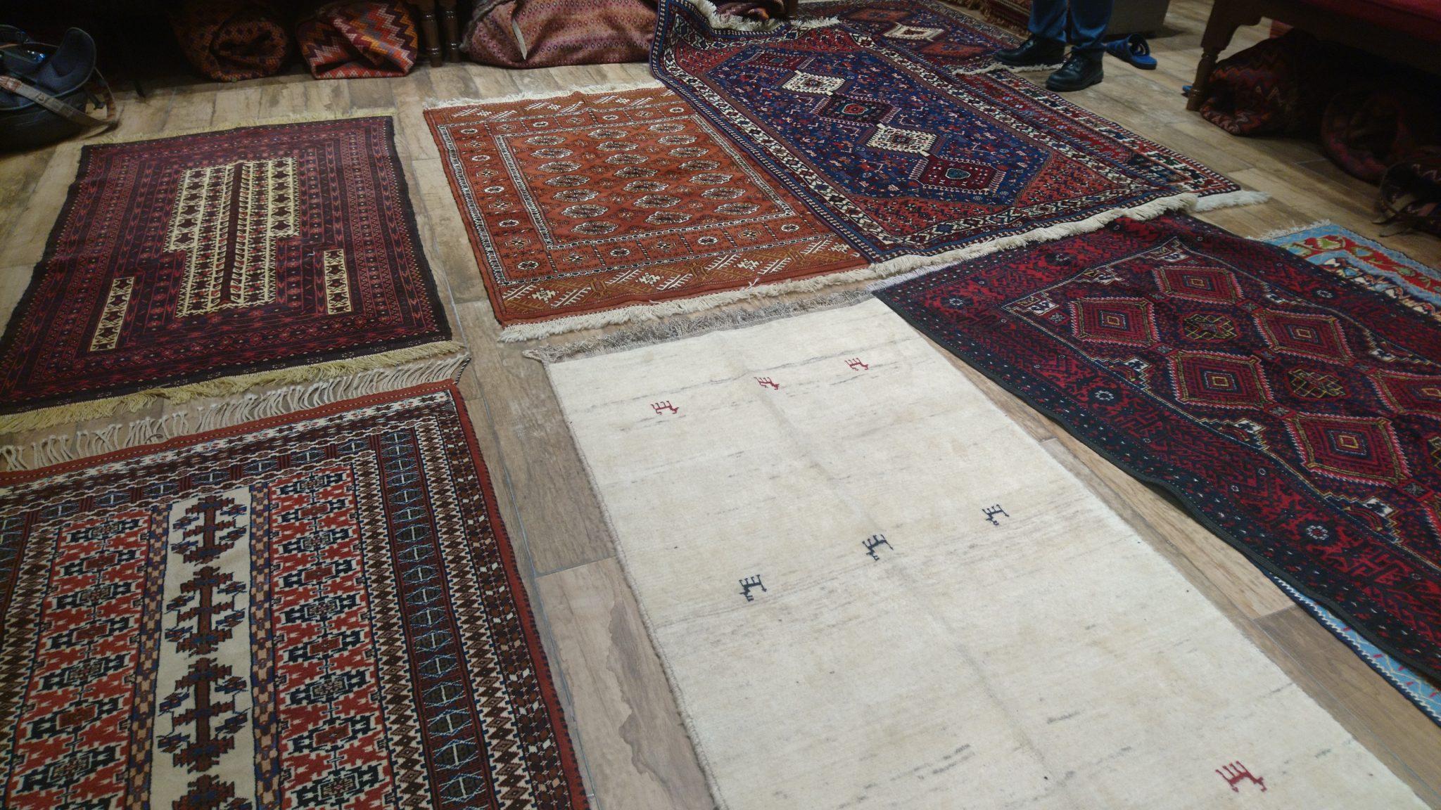 Experience d'achat de tapis à Ispahan