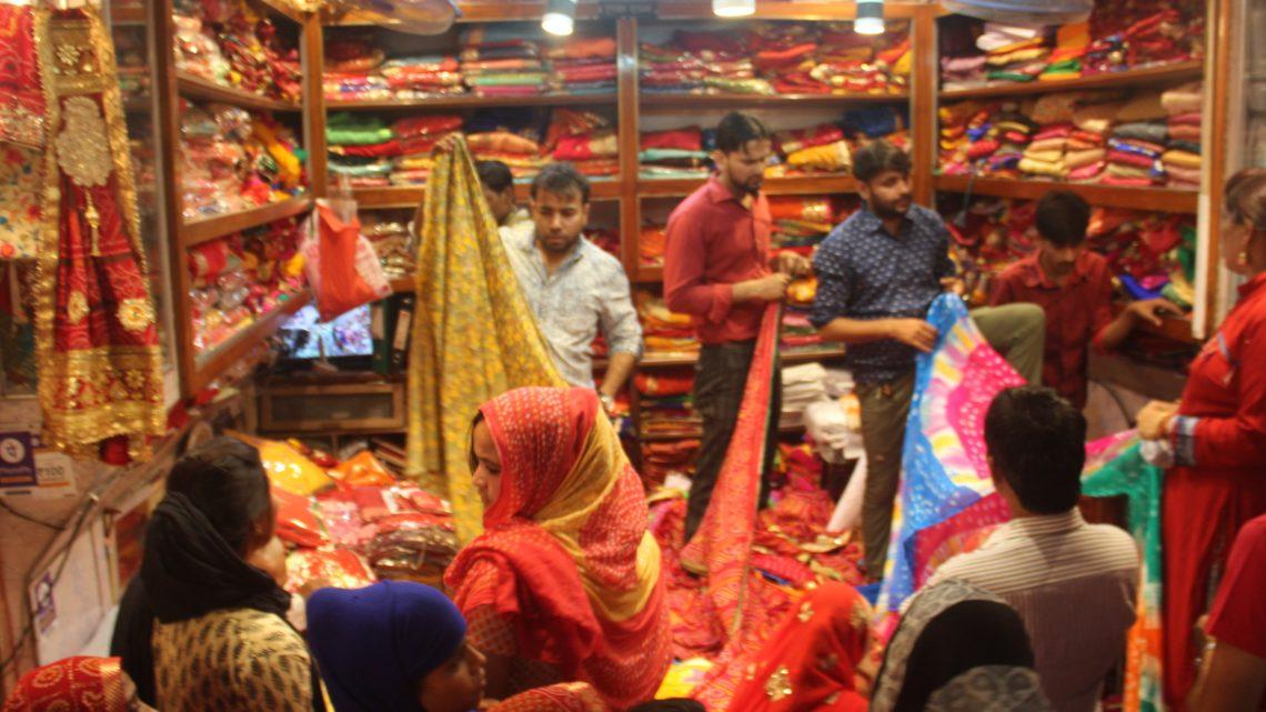 Jaipur, négociation de tapis et bazar